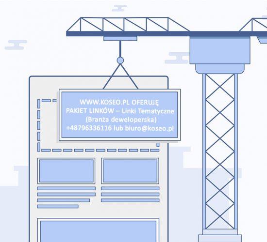Pozycjonowanie stron internetowych branży deweloperskiej